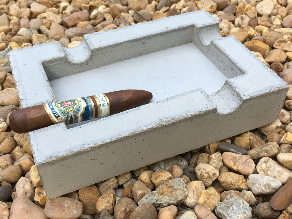 Concrete Cigar Ashtray