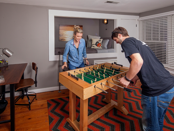 Faberhouse: Handmade Foosball Table