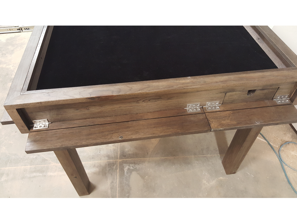 Krema Designs: Hickory Game Table