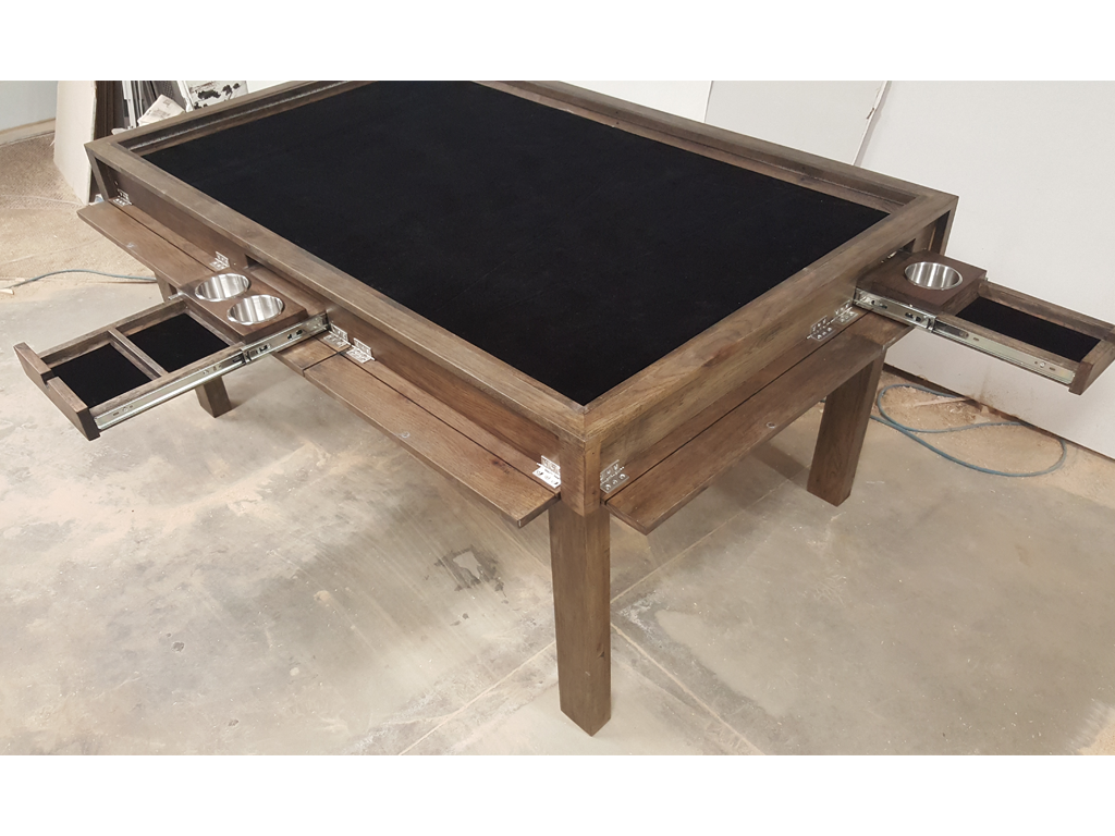 Hickory Game Table