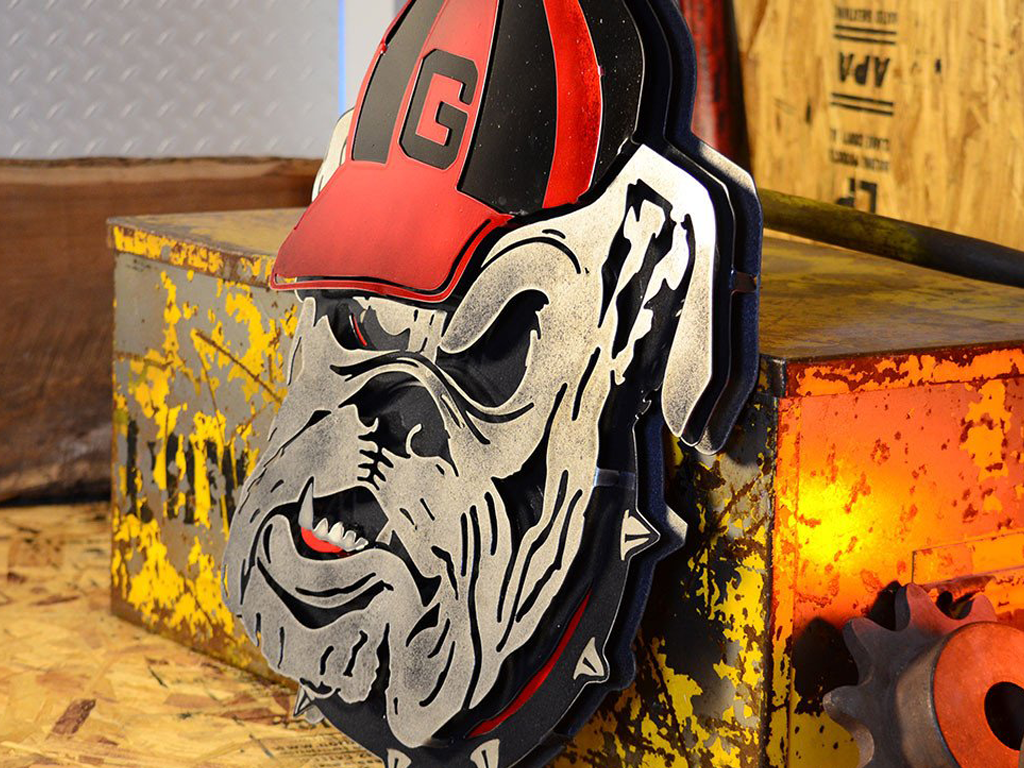 University of Georgia Bulldog Mascot