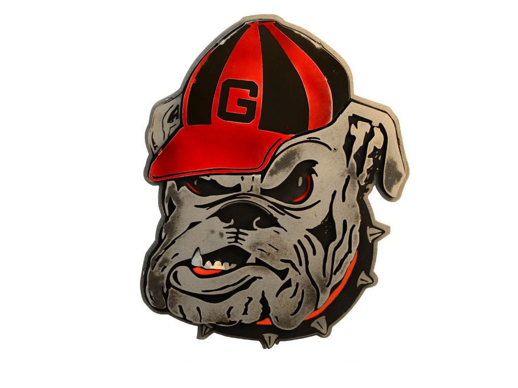 Hex Head: University of Georgia Bulldog Mascot
