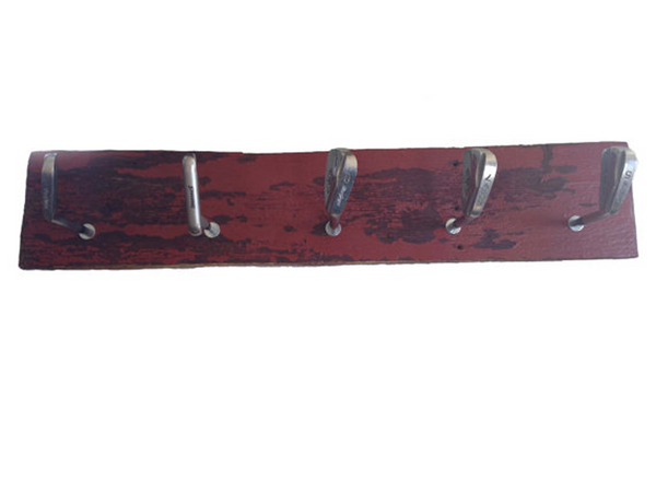 Golf Club Coat Rack