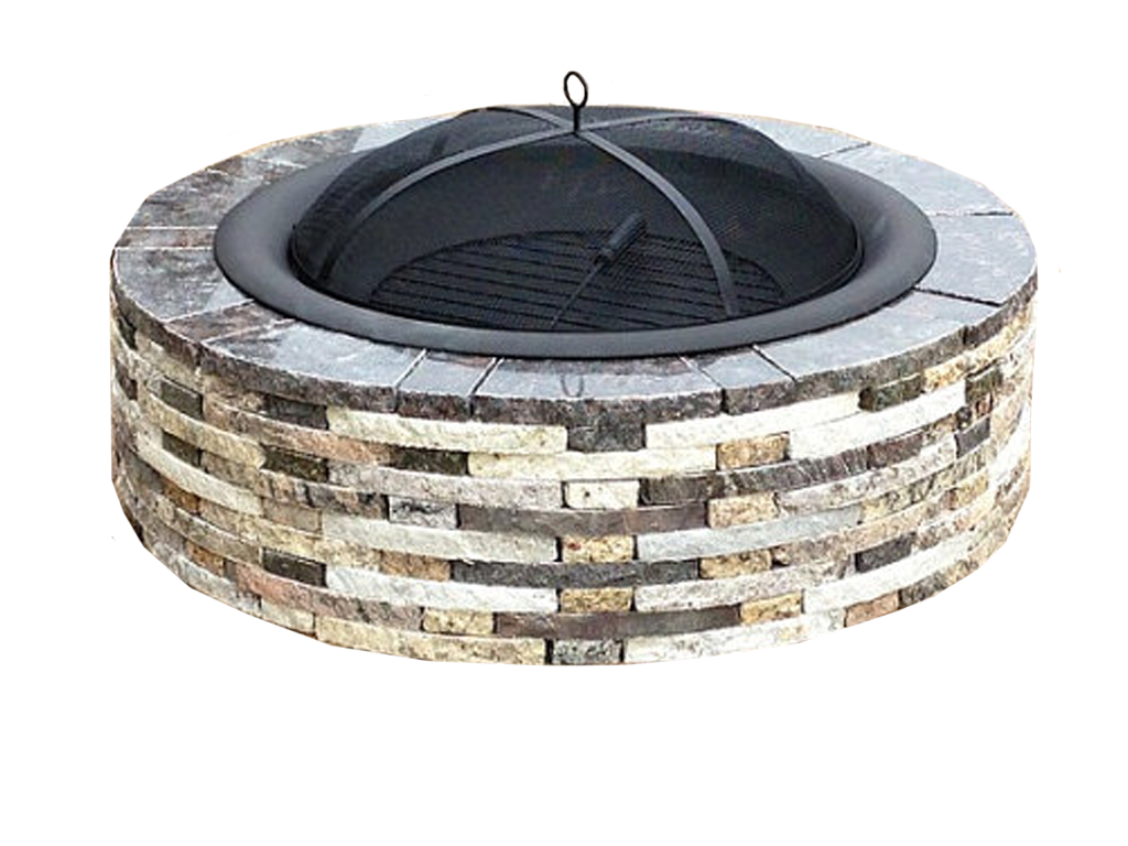 Earth Stones Inc: Custom Granite Fire Pit