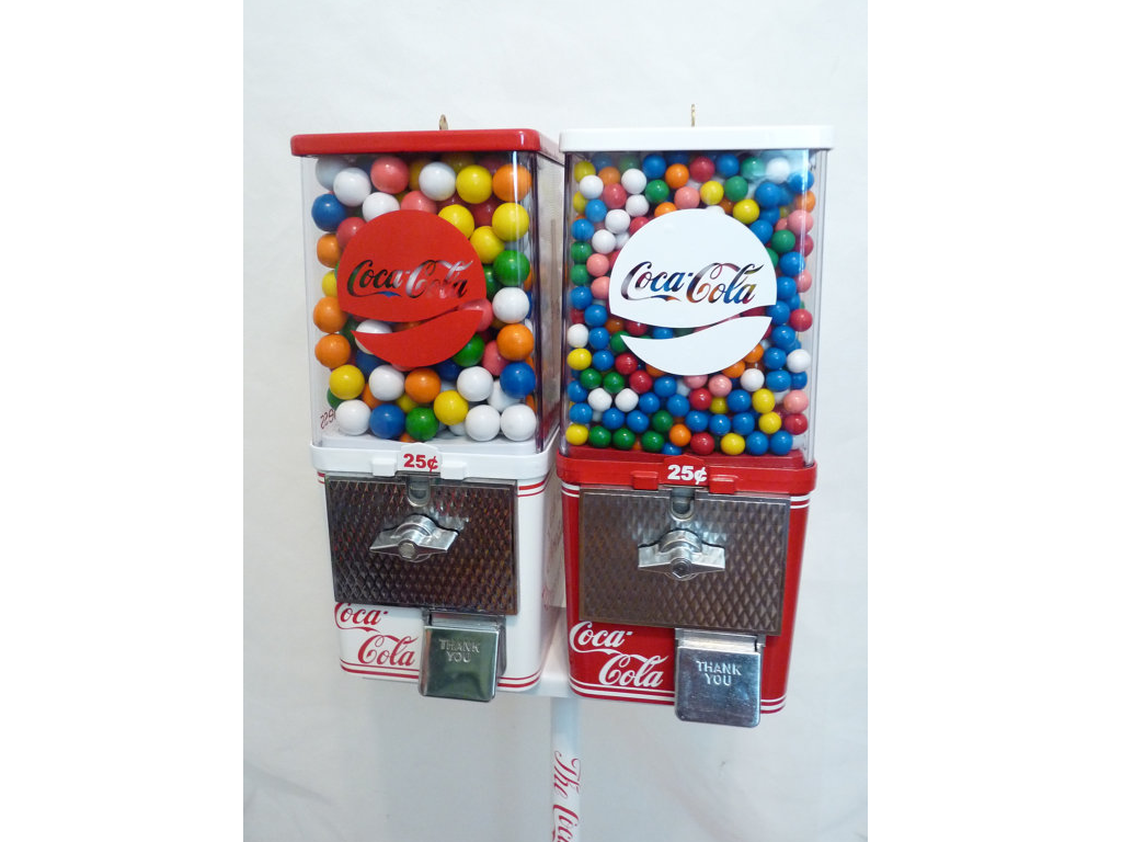 Custom Gumball Machine: Coca Cola Gumball Machine