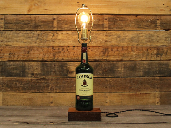 ReWicked Candle: Jameson Char Lamp