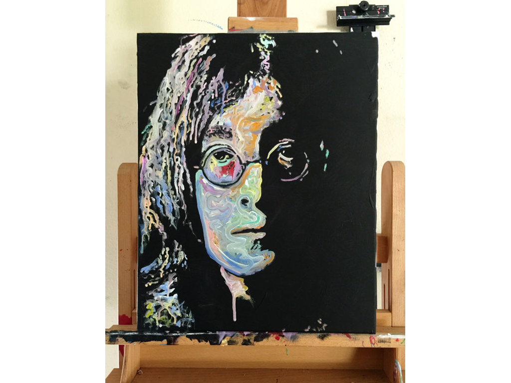 John Lennon Canvas Oil Painting