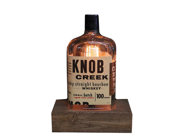 ReWicked Candle: Knob Creek Edison Desk Lamp