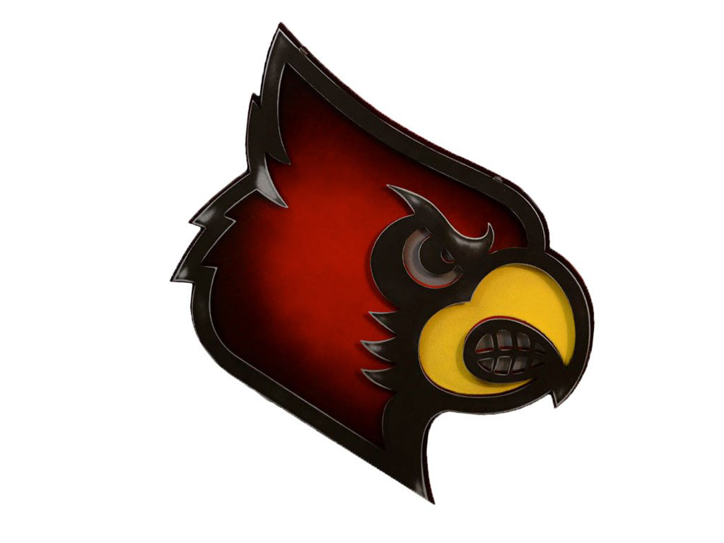 University of Louisville Cardinal Bird