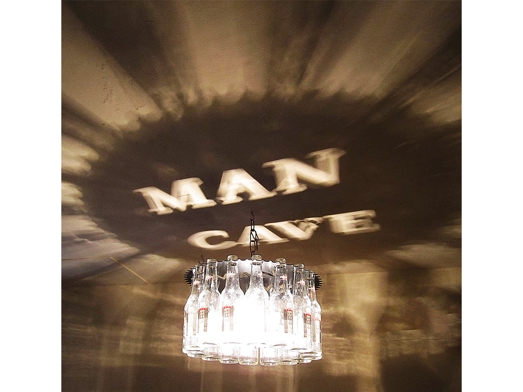 Man Cave Beer Bottle Light