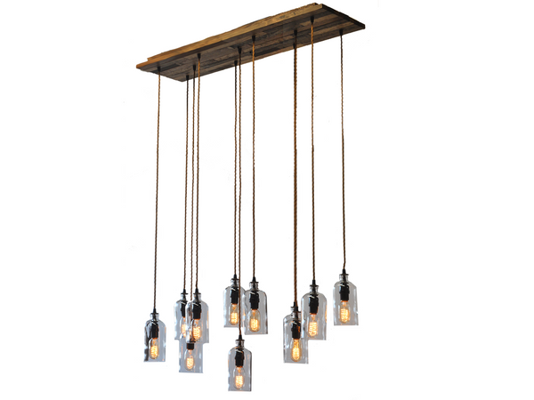 Moonshine Lamp: New Yorker 36 Chandelier