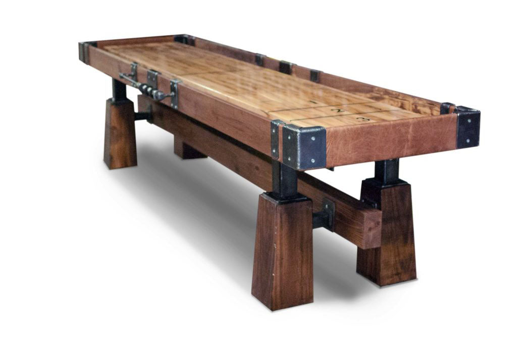 Rustic Shuffleboard Table