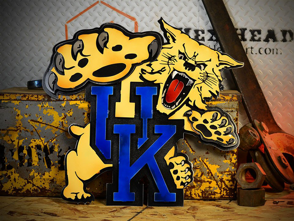 Hex Head: University of Kentucky Wildcat Mascot