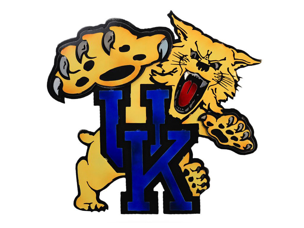 University of Kentucky Wildcat Mascot – Delta-13