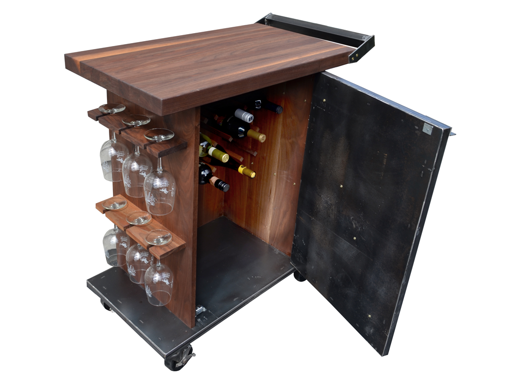 Wine Bar Cart