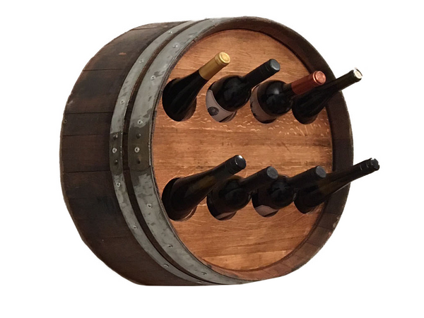 Wine Barrel Bottle Holder