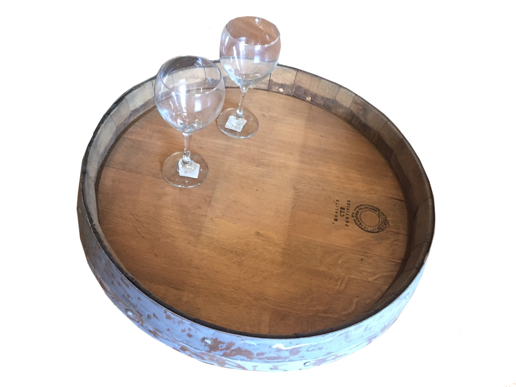 Smokin Barrel Works: Wine Barrel Lazy Susan