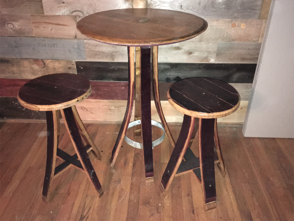 table sets barrel furniture cupboard shop set game tables whiskey wine