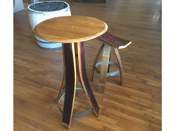 Wine Barrel Table And Chair Set Delta 13