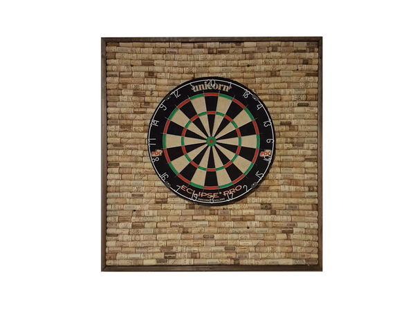 Hoosier Woodbox Wine Cork Dart Board