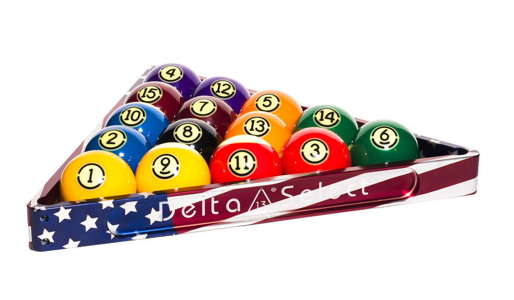 Delta-13 Patriotic Billiard Rack - Delta-13 - 3