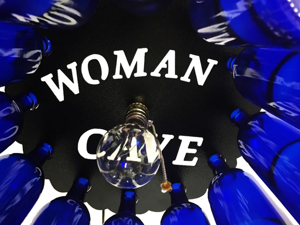 Wow Factor Lighting: Woman Cave Wine Bottle Light