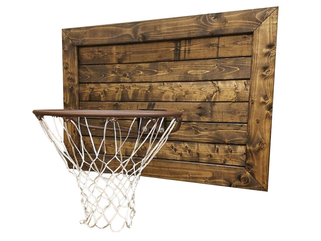 Humphries Garage: Wooden Basketball Goal
