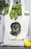 Saw Whet Owl Patient Tote (+$25 donation)