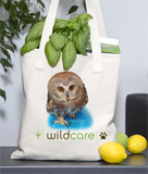 Saw Whet Owl Tote Bag (+$25 donation)