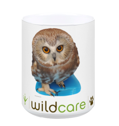 Saw Whet Owl Mug (+ $25 donation)