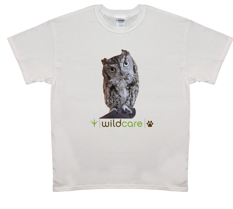 Screech Owl T-shirt (+$25 donation)