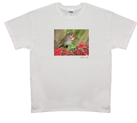 Thrush with Berry T-shirt (+$25 donation)