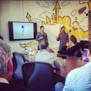 Zaca Brothers Present to Entrepreneurs at 1 Million Cups