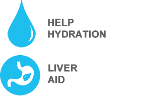 hydration and liver aid