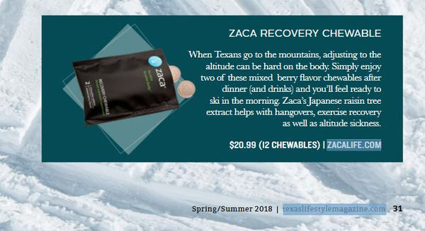 zaca recovery chewable hangovers