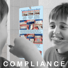 Improve Patient Compliance with On-The-Mirror Guides and ElasticCards!