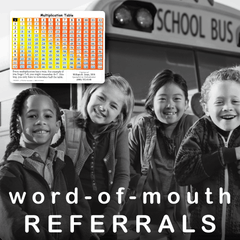 Boost word-of-mouth referrals!