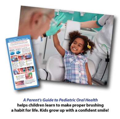 Pediatric Oral Health guide helps develop good brushing habits