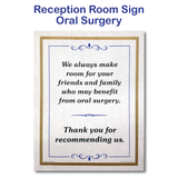 Oral Surgery Sign