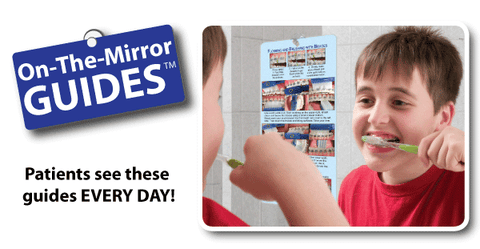 patients see On-The-Mirror-Guides every day