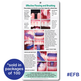 Effective Flossing and Brushing