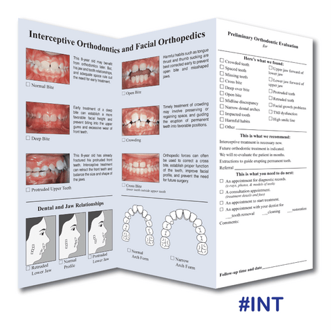 Interceptive Orthodontic Evaluation
