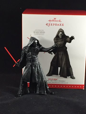 Kylo Ren [Star Wars: The Force Awakens] Holiday Ornament (Hallmark)