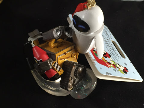 Wall-E & Eve Disney Pixar Holiday Ornament (Disney Store)