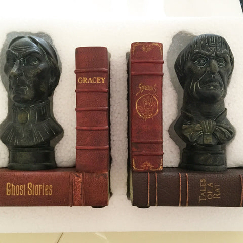 Haunted Mansion Busts Book Ends