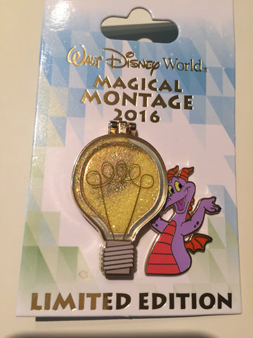 Figment & Dreamfinder WDW Magical Montage LE Pin