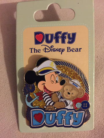 Mickey and Duffy Disney Parks Pin