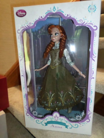 Anna (Frozen) Limited Edition 5000 Disney Store Doll