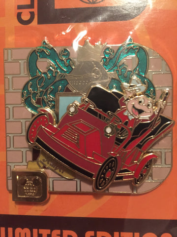 Classic D - Mr. Toad's Wild Ride Limited Edition Pin