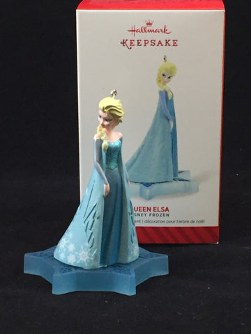 Queen Elsa (Frozen) 2014 Hallmark Holiday Ornament